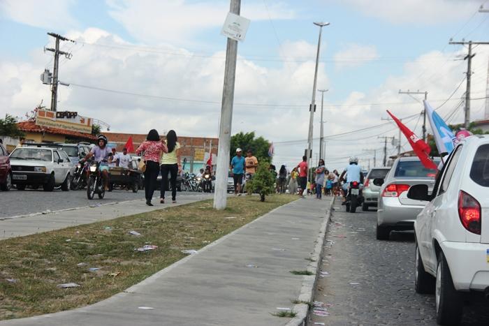 Colégio Olgarina 2ª maior seção do Município movimento intenso