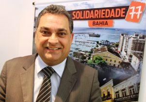 Luciano Araújo é presidente estadual do Solidariedade e tesoureiro do partido no Brasil | Foto: Raimundo Mascarenhas