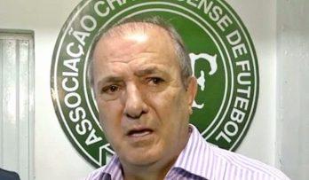 Ivan Tozzo, vice-presidente da Chapecoense (Foto: Reprodução/Globo News)