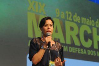 Maria Quitéria - Presidente da UPB e prefeita de Cardeal da Silva