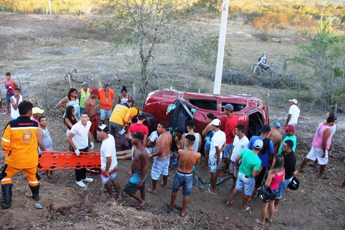 Anjos da Vida chegou ao local menos de meia hora depois do acidente | Foto: Raimundo Mascarenhas