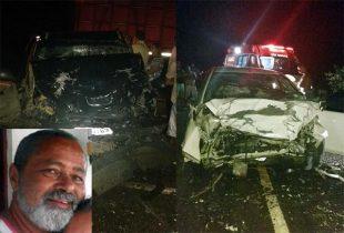 Morador de Queimadas morreu no local do acidente