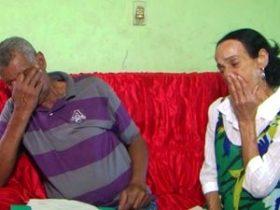 Credes Nunes com a esposa Lêda Santana