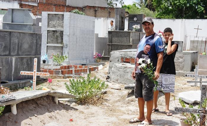 Em apenas seis meses Del perdeu filha e esposa   Foto: Raimundo Mascarenhas