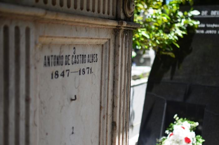 Corpo do Poeta Castro Alves também foi sepultado no Campo Santo