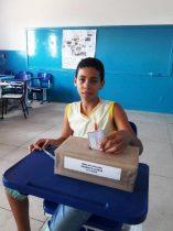 Aluno que não tem direito a voto numa eleição municipal tem poder de escolha na sua escola