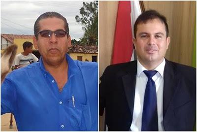 Da direita: Reinaldo Brito de Carvalho e Bruno Pamponet Kuhn Pereira.