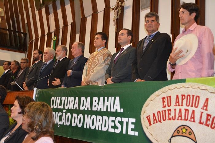 Vaqueiros de toda Bahia se reuniram em Salvador, muitos chegaram no sábado e permaneceram até a audiência na segunda