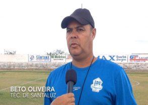Santaluz continua com 100% de aproveitamento jogando em casa e vai precisar para continuar na disputa