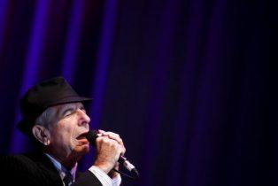 O músico e poeta Leonard Cohen