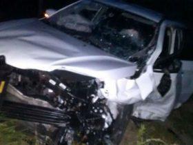 Motorista do outro veículo fugiu do hospital, diz PRE