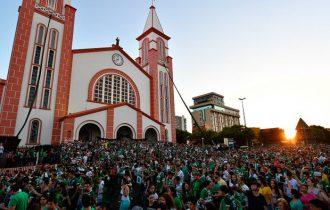 Missa lotou a catedral de Santo Antônio, na cidade
