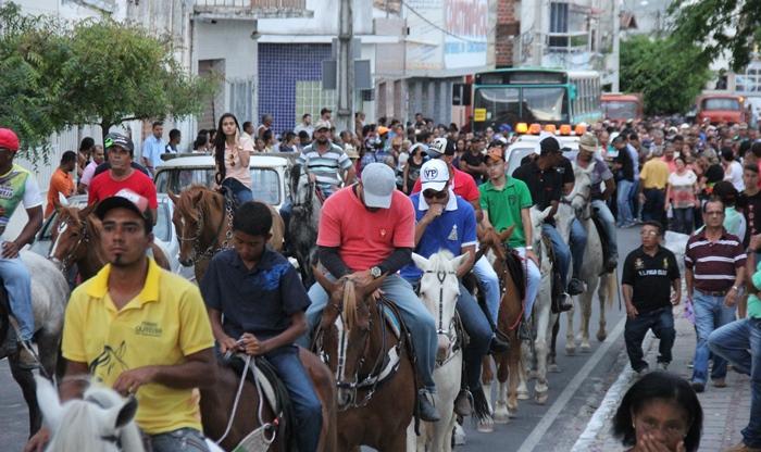 Tristeza tomou conta dos amigos de cavalgadas | Foto: Raimundo Mascarenhas