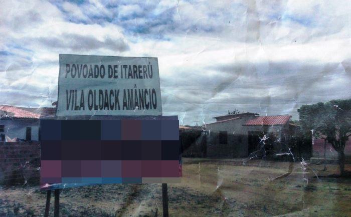 Terrenos doados virou uma vila que ganhou o nome Oldack Amâncio