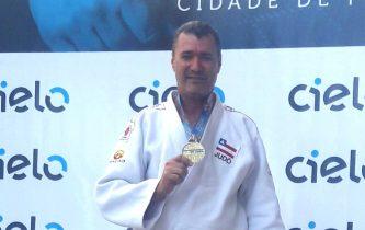 Vladson Matos conquista a sexta medalha nesta mesma competição