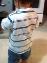 Garoto tem dois anos e está sem estudar