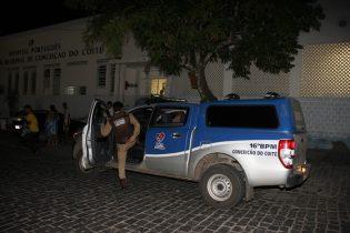 Policia Militar saiu a procura do criminoso que pode ser morador do mesmo bairro