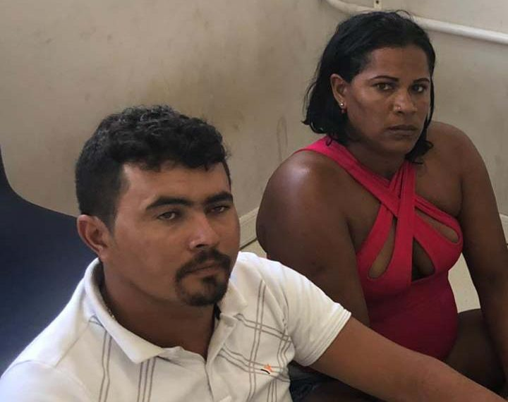 PM de Serrinha prende casal de Pernambuco com quase 85 kg de maconha