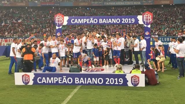 Resultado de imagem para bahia campeão baiano 2019
