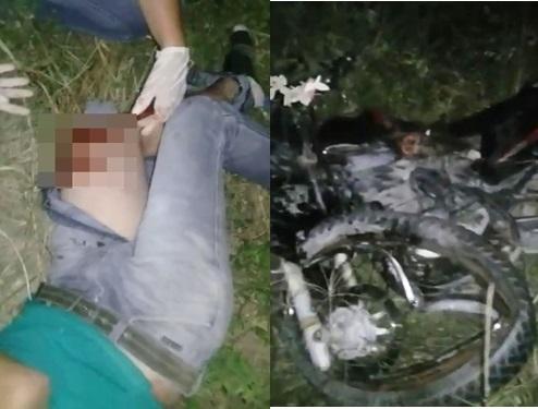 Motociclista fica gravemente ferido em acidente na BA 120