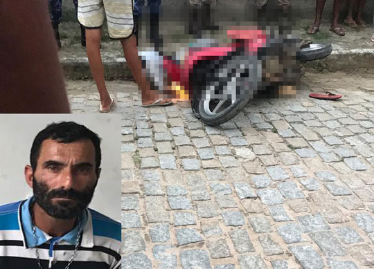 Homem é morto quando pilotava moto em bairro de Serrinha