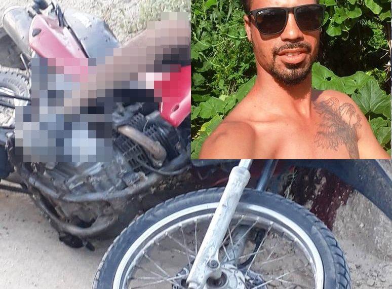 Homem é morto a tiros enquanto pilotava moto em estrada vicinal de Valente