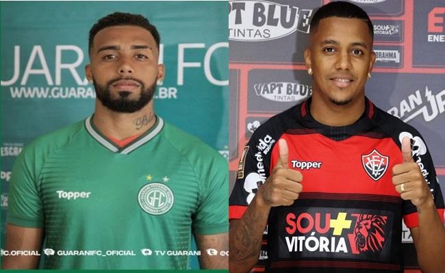 Guarani do coiteense Inácio vence o Vitória do serrinhense Capa pelo Brasileirão da série B