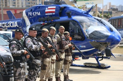 Governo libera R$33,9 milhões para policiais por redução de crimes