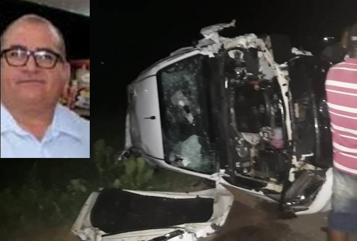 Empresário do ramo de combustíveis morre em acidente na BR 116, em Euclides da Cunha