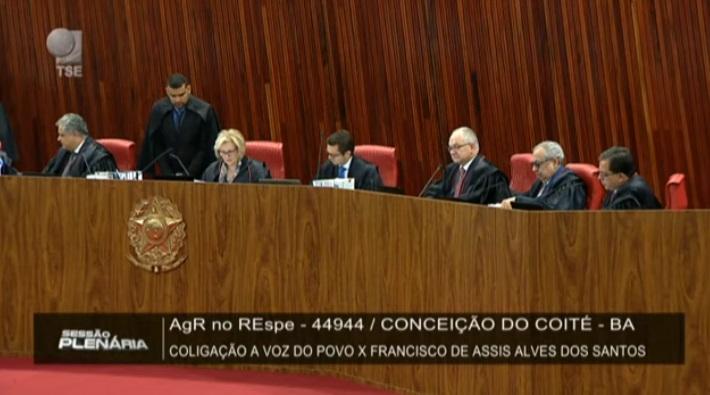 TSE confirma Sentença do Juiz Gerivaldo Neiva e Assis e Val se mantêm nos cargos até o fim dos mandatos