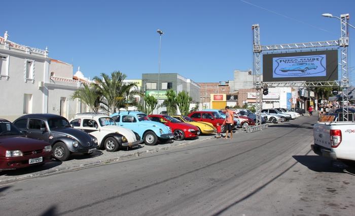 Exposição de carros antigos marca presença mais uma vez em Conceição do Coité durante a Semana da Cultura
