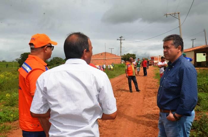 Sítio do Quinto: deputado Alex da Piatã acompanha superintendente da Defesa Civil ao Povoado de Jardim