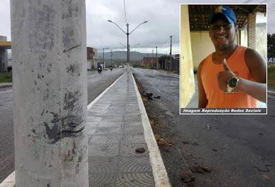 Homem morre após colidir moto contra poste na BA 411, perímetro urbano da cidade
