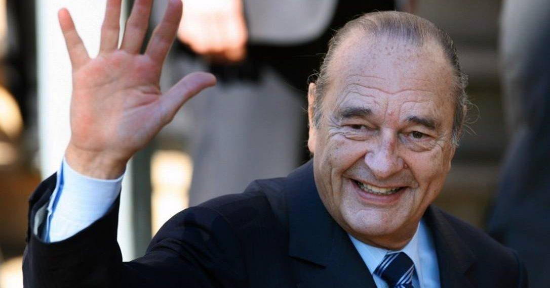 Resultado de imagem para Antigo Presidente francês Jacques Chirac morreu aos 86 anos