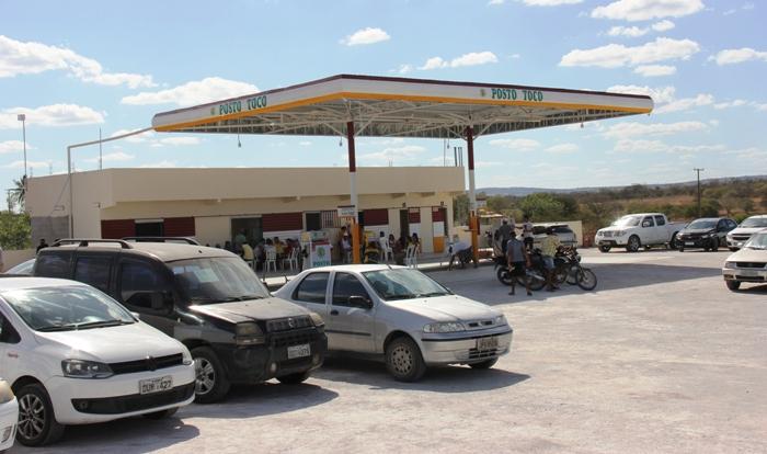 Posto Tocó na BA 409 trecho Coité-Serrinha inaugura com super promoção em todos os combustíveis - Calila Notícias