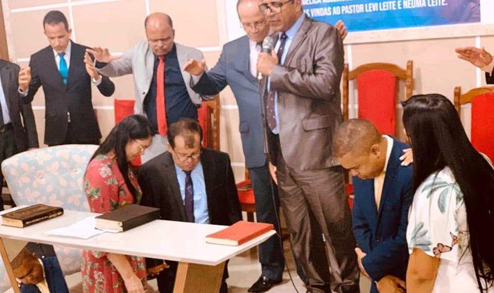 Pastor Levi Leite deixa Coité e assumi a liderança da Igreja Assembléia de Deus em Cícero Dantas