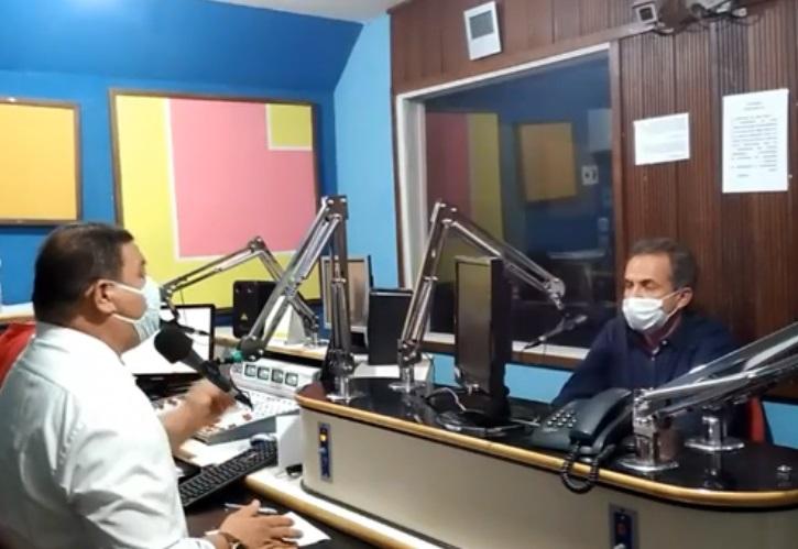 Entrevista de Marcelo na Rádio Sisal