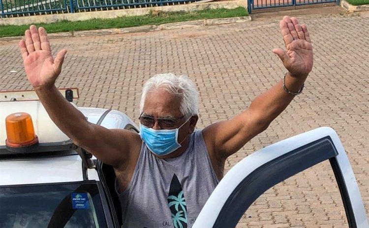 Curado da Covid-19, morador de SP voltou à UPA para agradecer atendimento