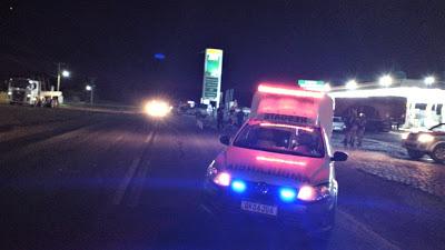 Homem é morto após ser atropelado por caminhão na BR 324