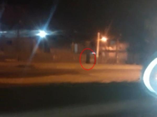 Mistério: motorista grava no mesmo vídeo aparição de suposto fantasma em pontos diferentes da ALEM