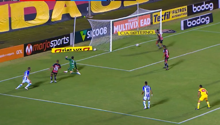 Serie B – Pelo placar mínimo Vitória perde invencibilidade jogando em casa contra o CSA