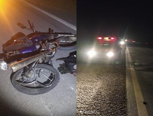 Tanquinho – Motociclista morre em acidente na BR 324