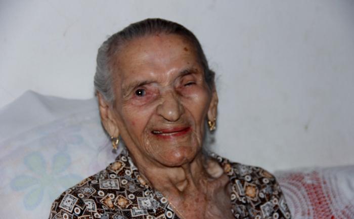 Moradora de Coité completa 116 anos. Idosa é a mais velha da Bahia, segunda do Brasil e quarta do mundo
