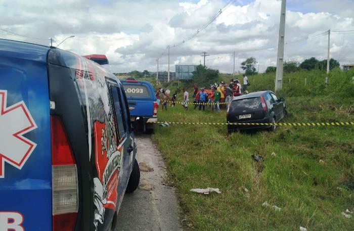 Homem é morto a tiros dentro de carro na BA 409 – Calila Noticias