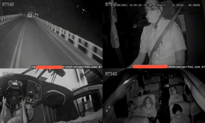 Vídeo mostra exato momento do acidente envolvendo caminhão e ônibus na BR 101 que deixou 12 mortos